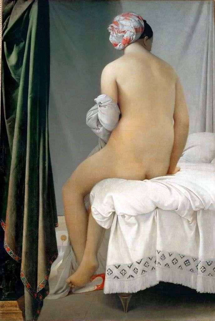 Bather of Valpinson (big bather) by Jean Auguste Dominique Ingres