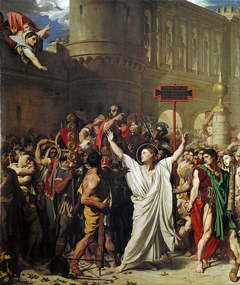 The Martyrdom of Saint Symphorion by Jean Auguste Dominique Ingres