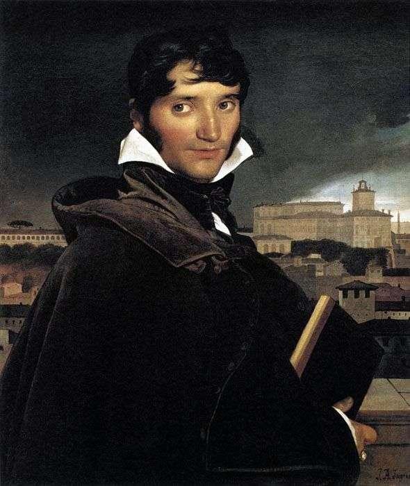Portrait of the artist François Marius Graine by Jean Auguste Dominique Ingres