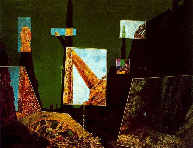 Day and night (Night and day) by Max Ernst