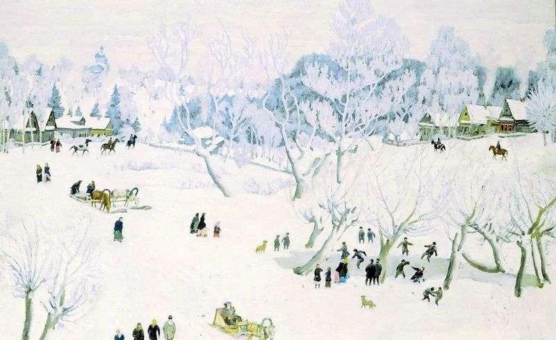 Sorceress Winter by Konstantin Yuon