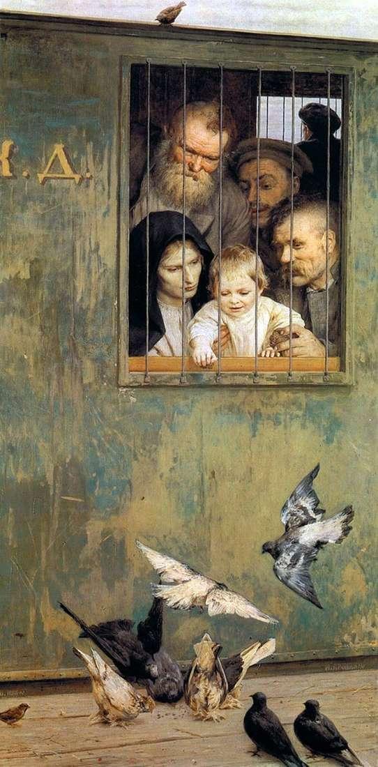Everywhere life by Nikolai Yaroshenko