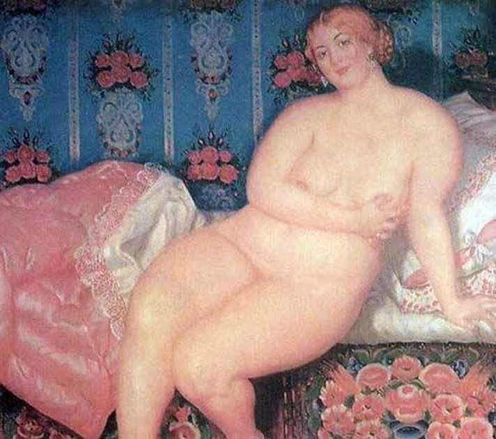 Beauty by Boris Kustodiev