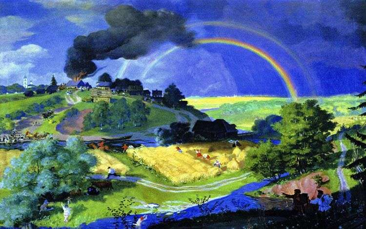 After the storm by Boris Kustodiev