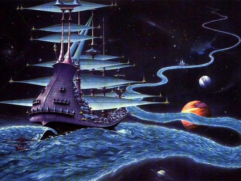 Star River by Rodney Matthews