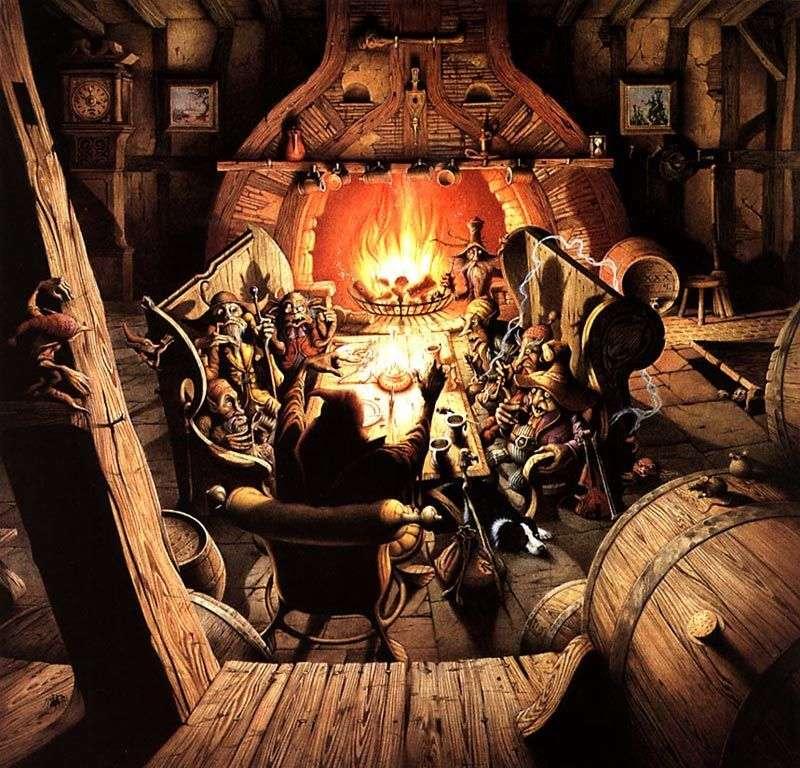 Goblin Beer by Rodney Matthews