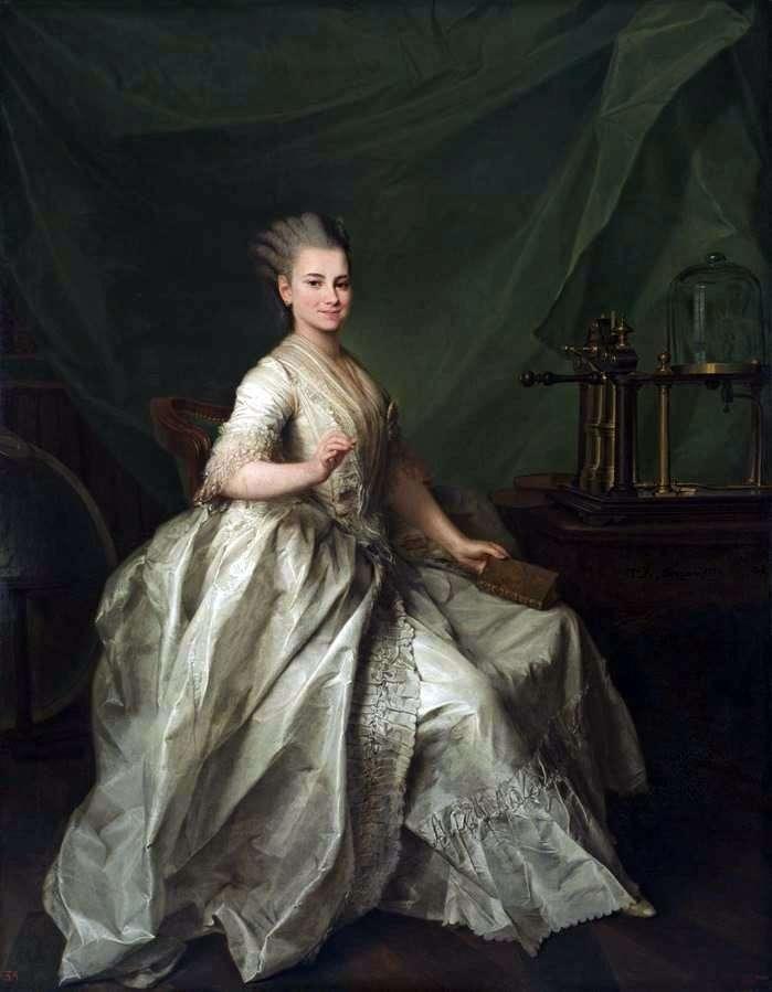 Portrait of Molchanova E. And by Dmitry Levitsky
