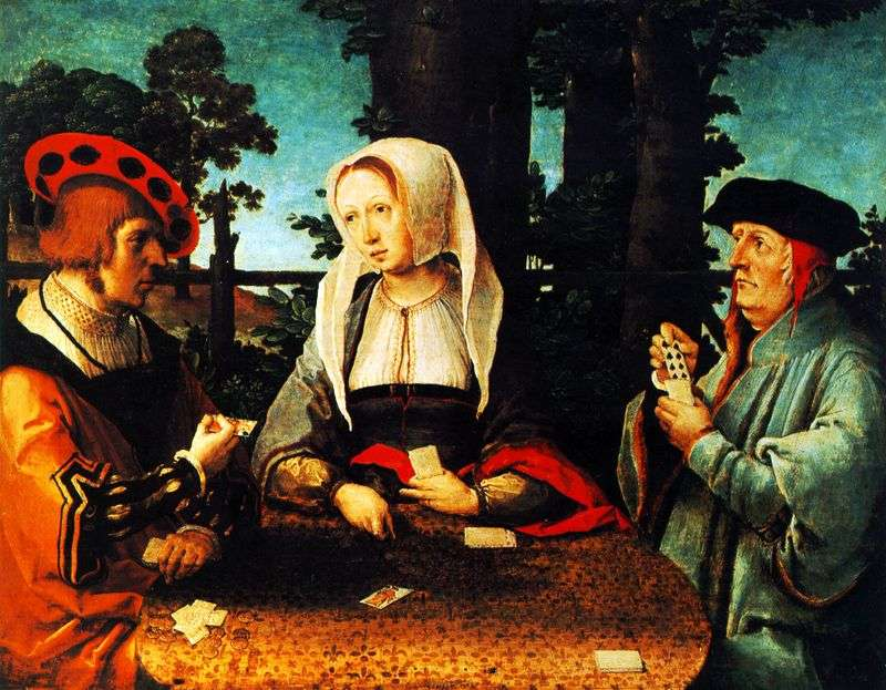 Card Game by Lucas van Leiden