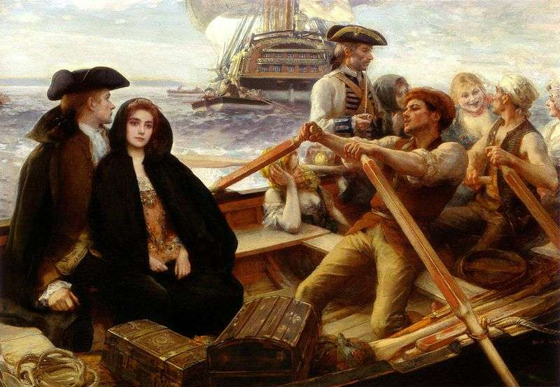 Jolly Ship by Albert Lynch