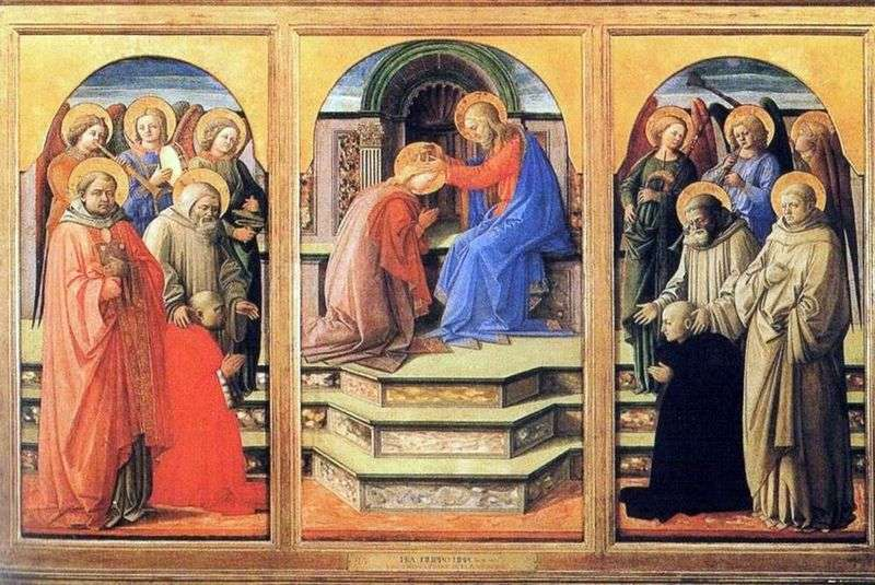 The Crowning of Mary by Fra Filippo Lippi