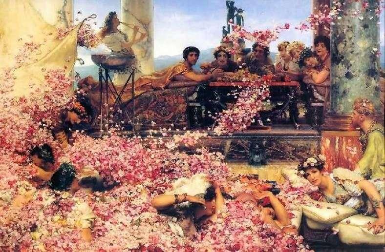 Roses Heliogabala by Alma Tadema Lawrence