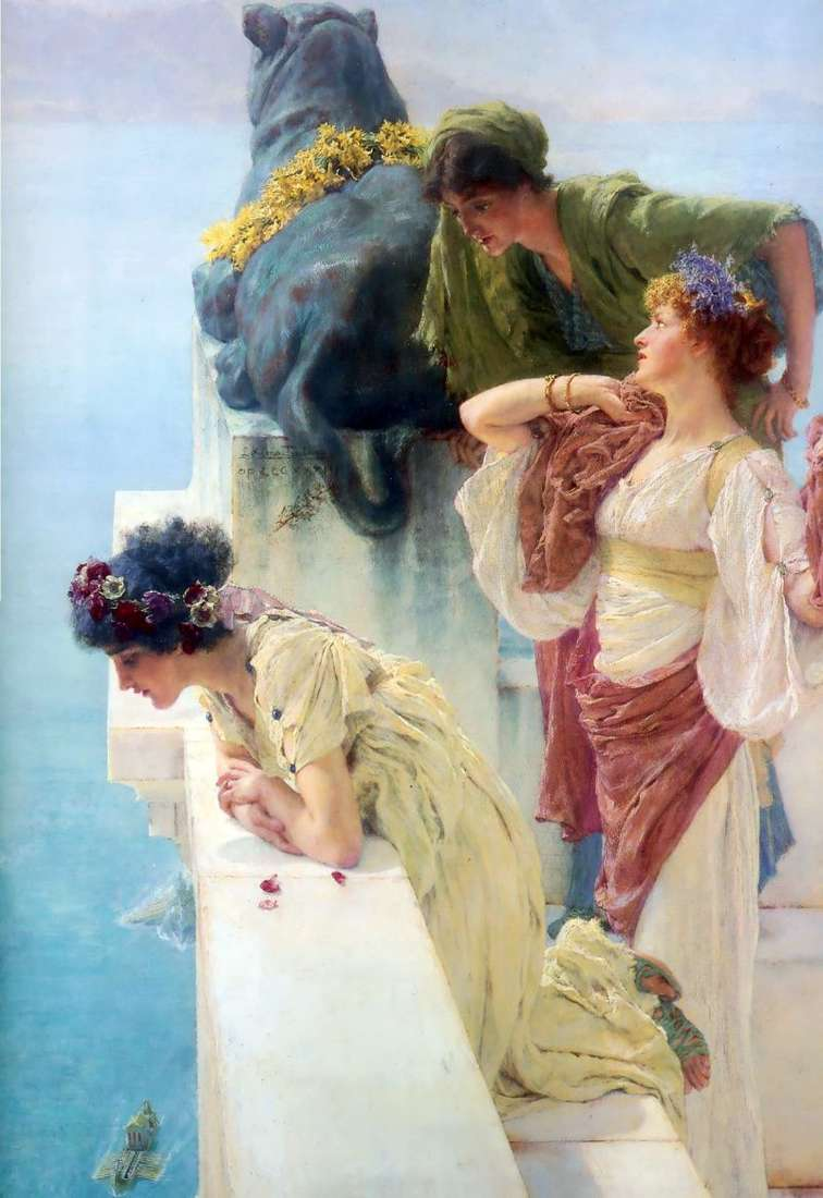Observation deck by Alma Tadema Lawrence