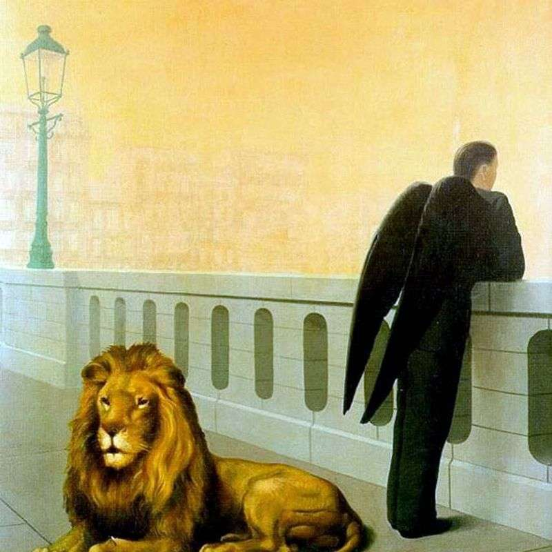 Nostalgia by Rene Magritte