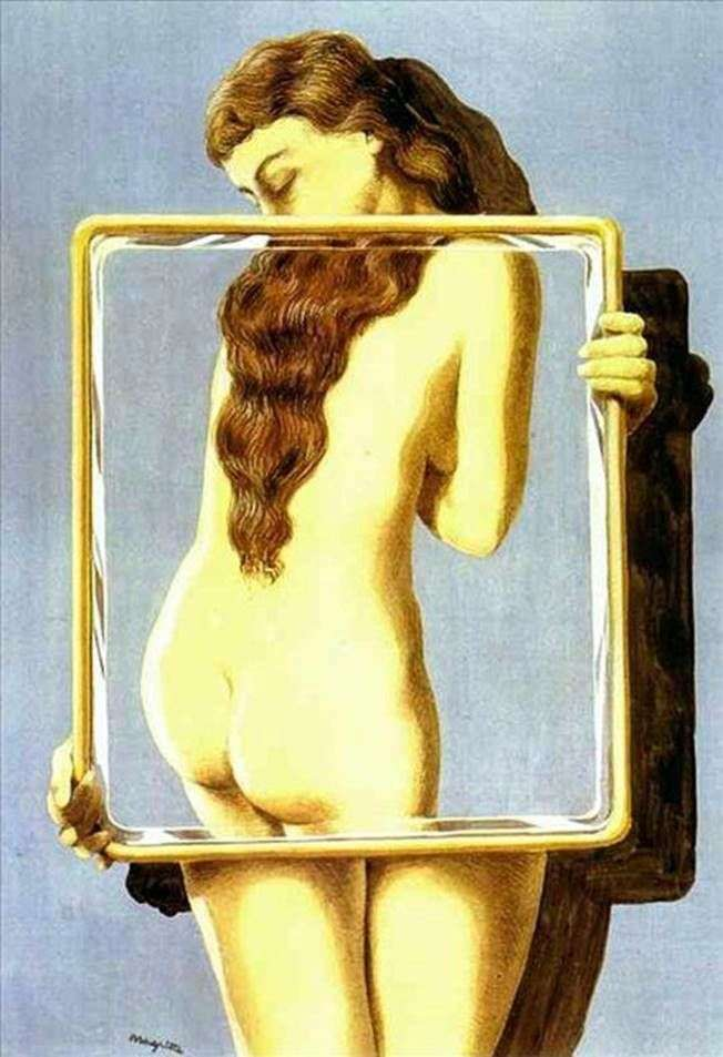 Dangerous Lesson by Rene Magritte