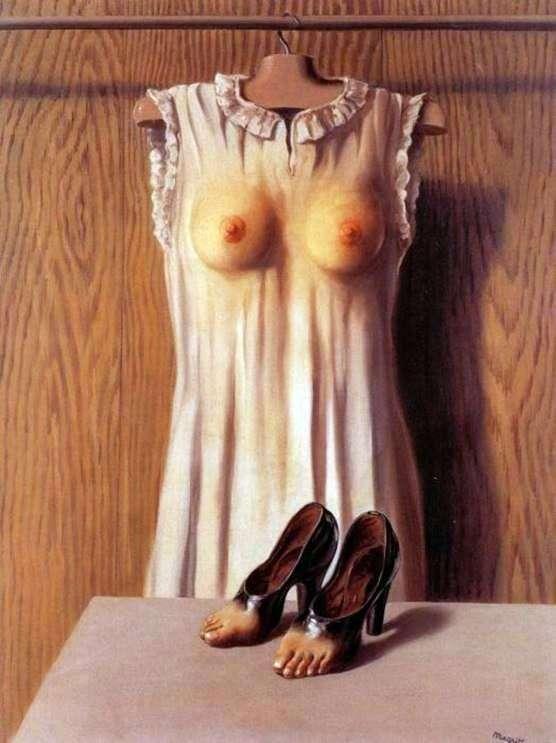 Boudoir Philosophy by Rene Magritte