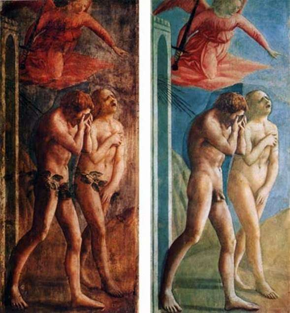 Exile from Paradise by Masaccio