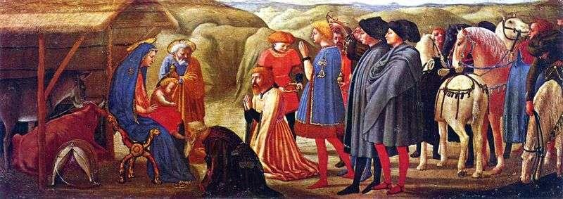 Adoration of the Magi by Masaccio