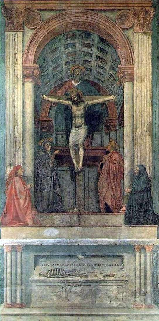 Trinity by Masaccio