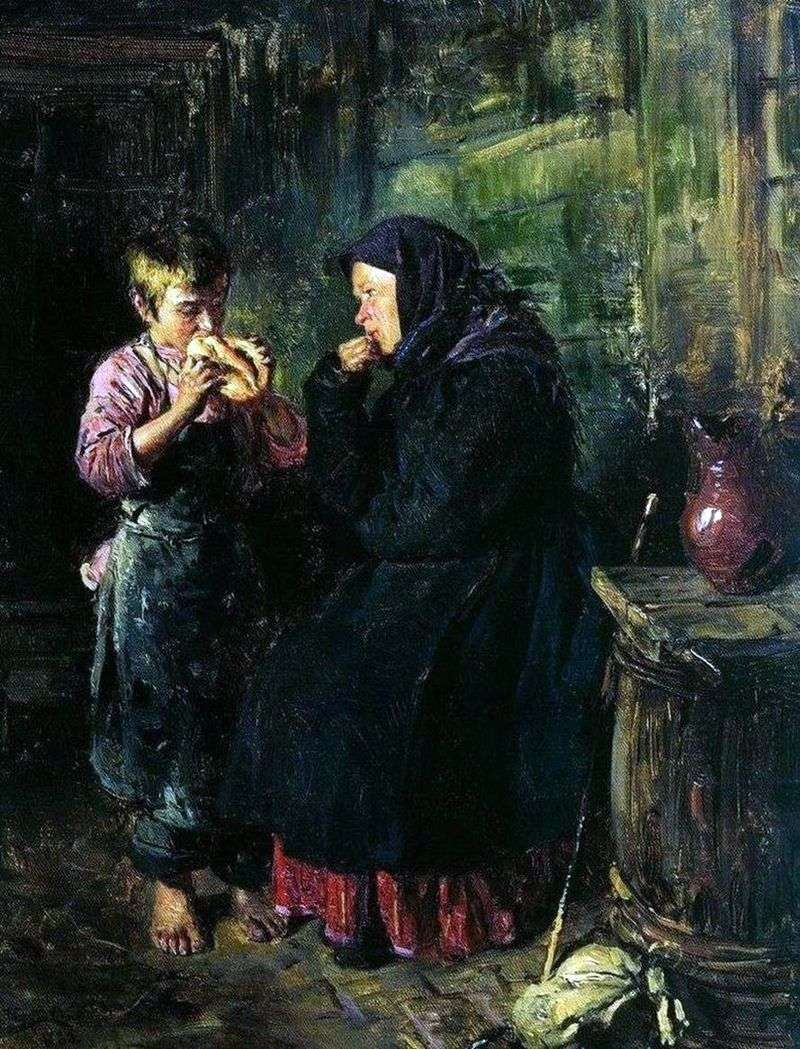 Date by Vladimir Makovsky