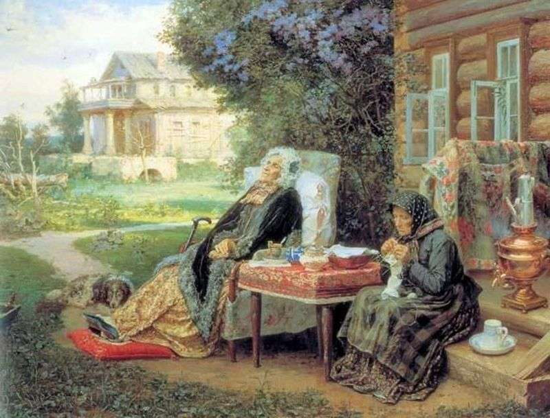 Everything in the past by Vasily Maximov