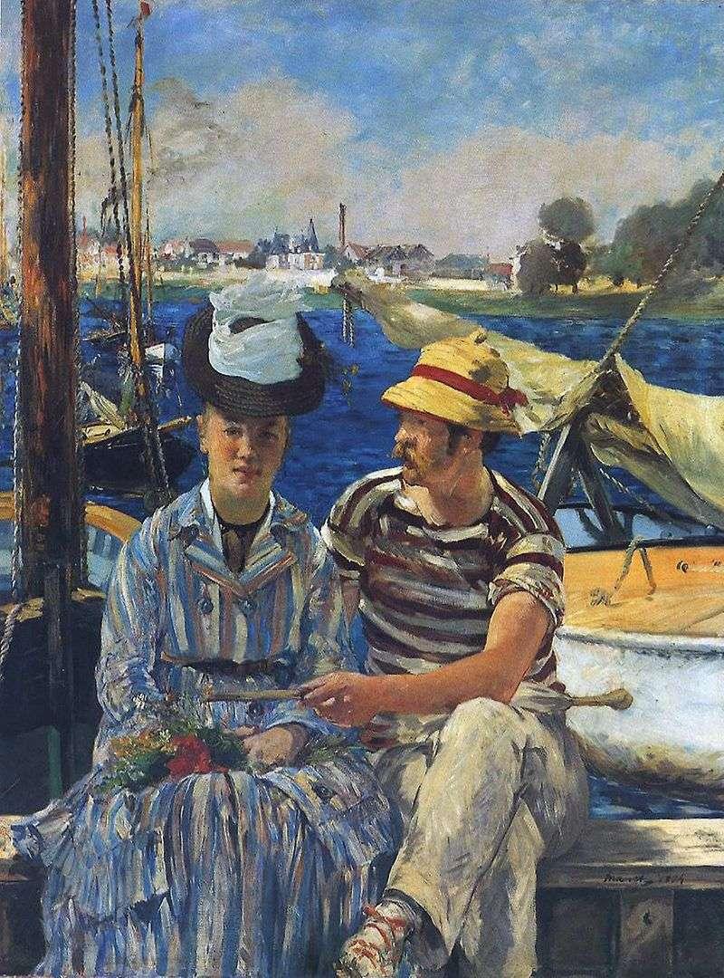 Arzhantey by Edouard Manet