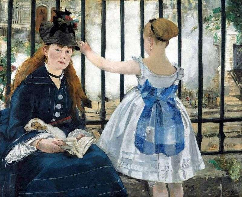 Railway by Edouard Manet