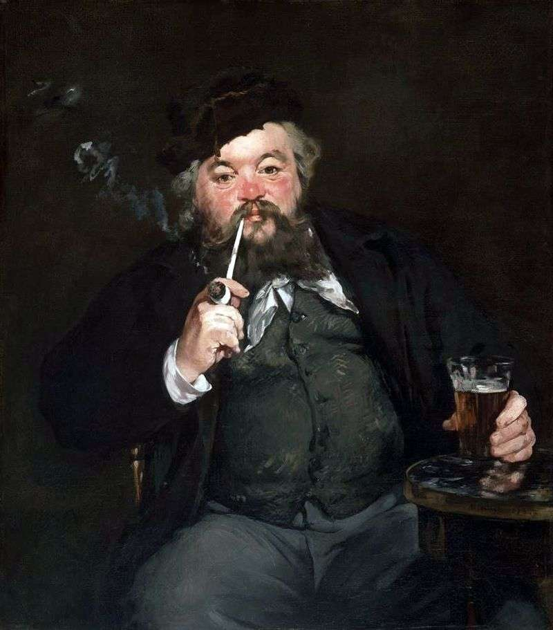 Over a beer by Edouard Manet