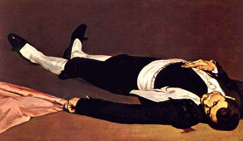 Dead bullfighter by Edouard Manet