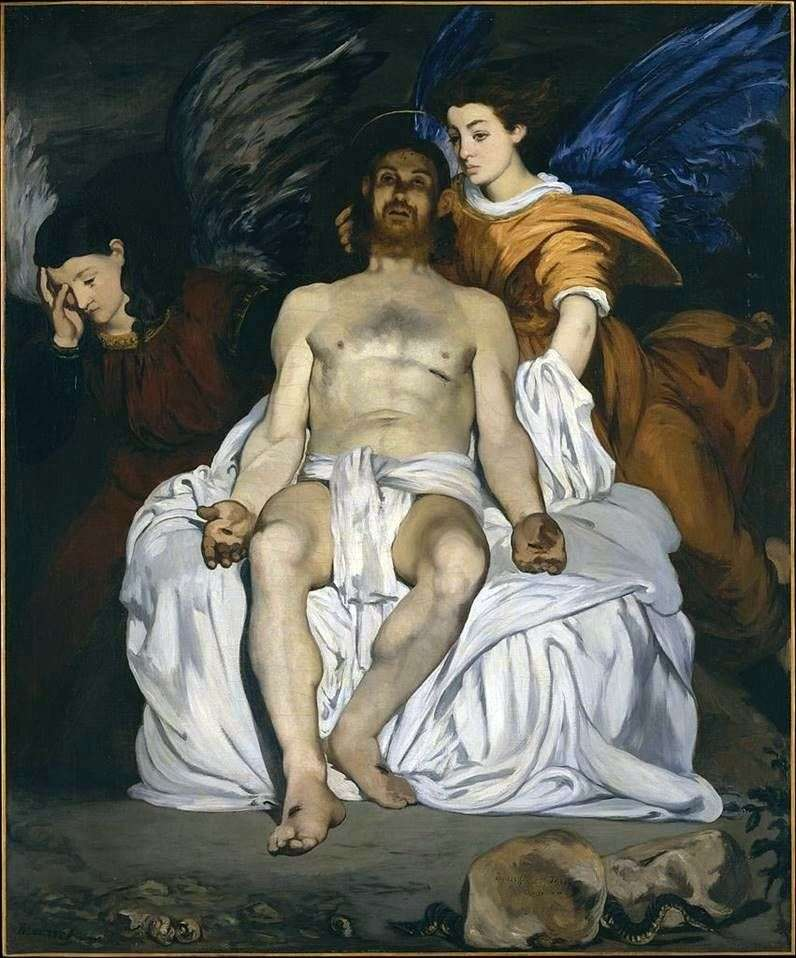 Christ with the Angels by Edouard Manet