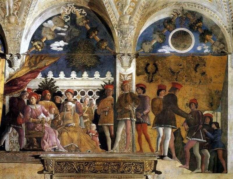 Camera degli Spozi by Andrea Mantegna