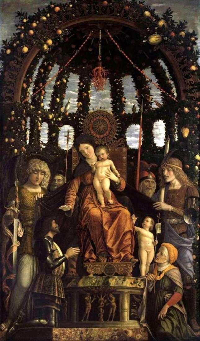 Madonna della Vittoria by Andrea Mantegna