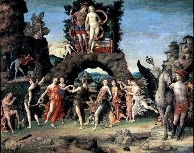 Mars and Venus, or Parnas by Andrea Mantegna