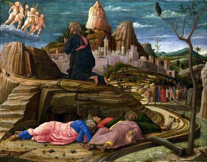 Prayer of the Chalice by Andrea Mantegna