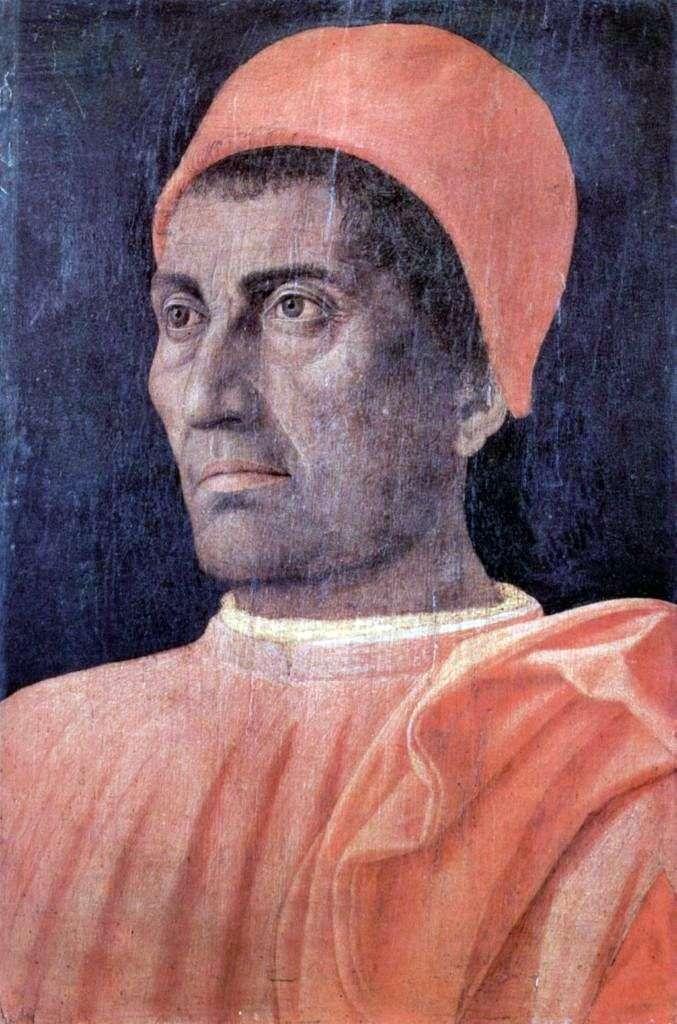 Male Portrait by Andrea Mantegna