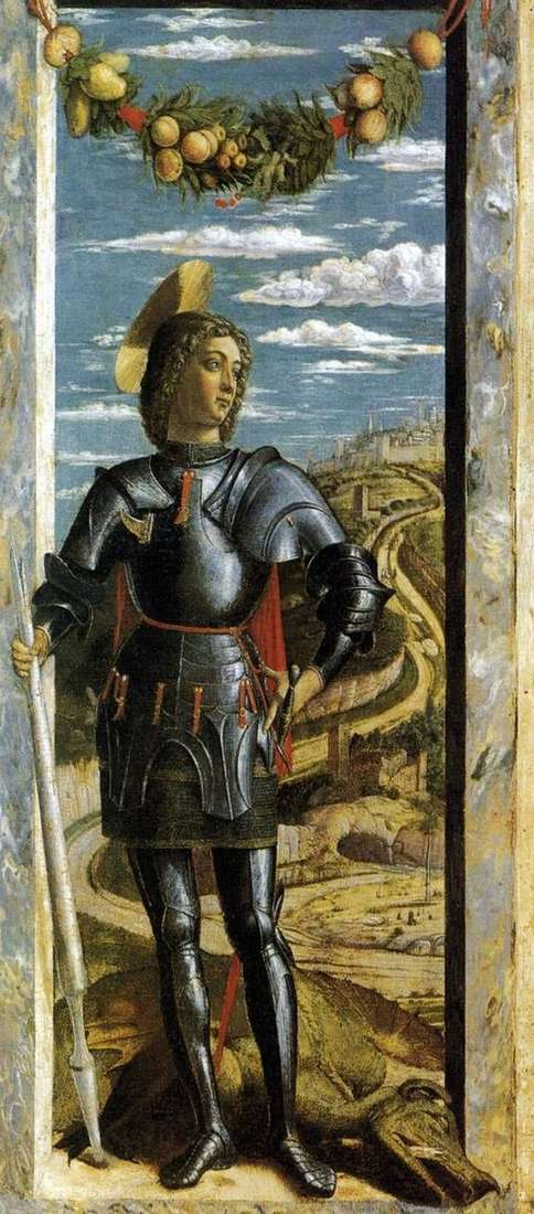 Saint George by Andrea Mantegna