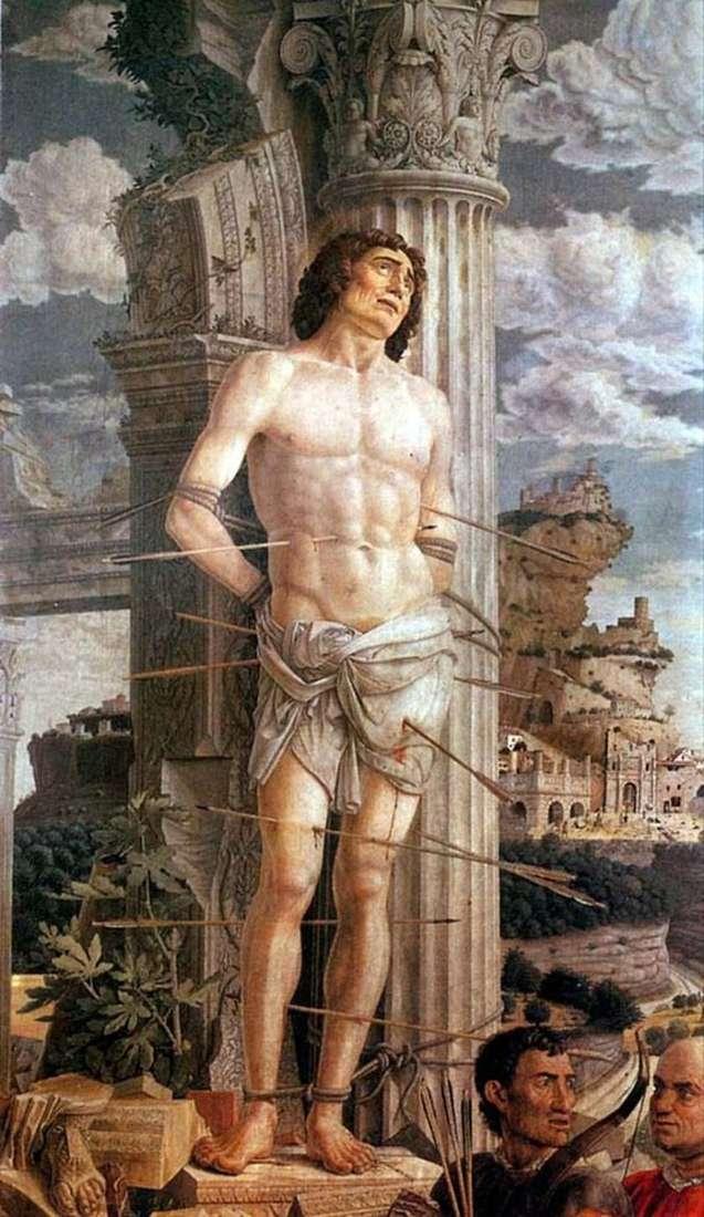 Saint Sebastien by Andrea Mantegna