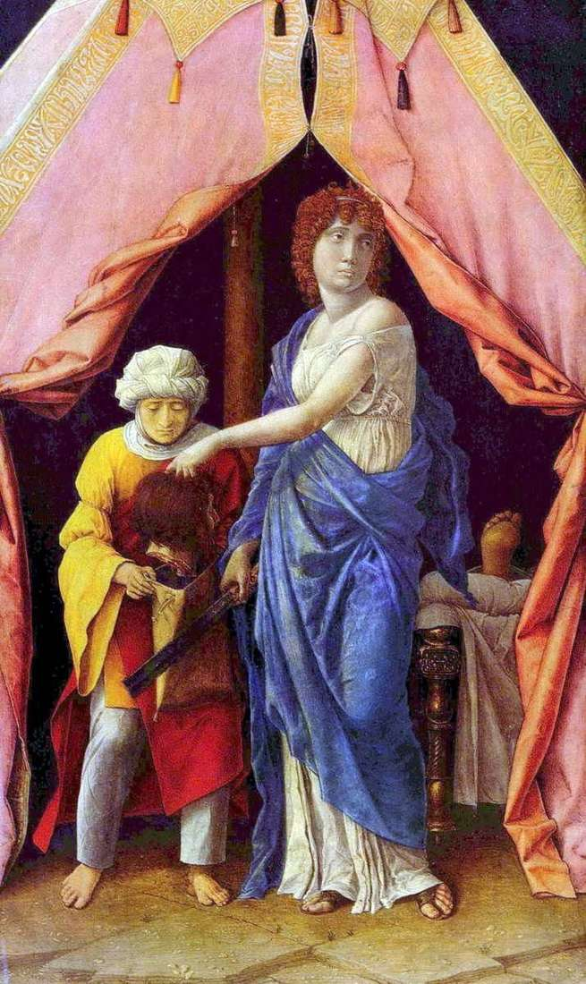 Judith and Holofernes by Andrea Mantegna