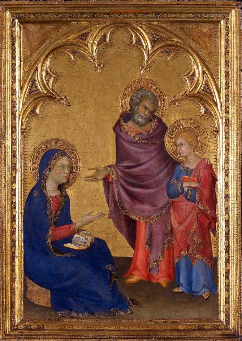 Holy Family by Simone Martini