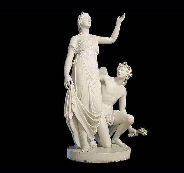 Monument to Grand Duchess Alexandra Pavlovna by Ivan Martos
