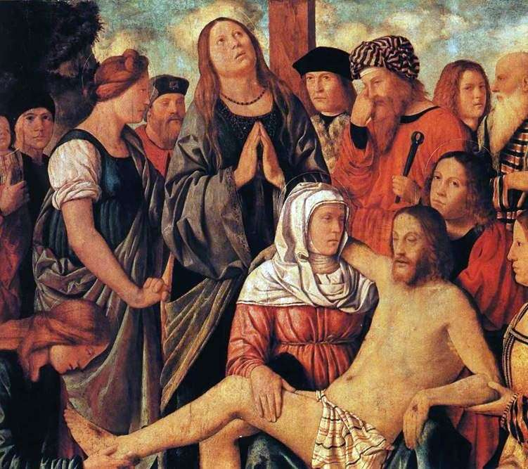 Lamentation of Christ by Marco Martial