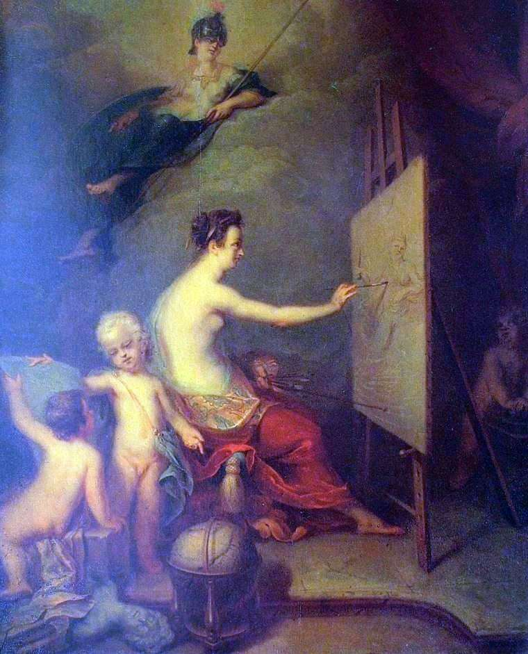 Allegory of Painting by Andrey Matveyev