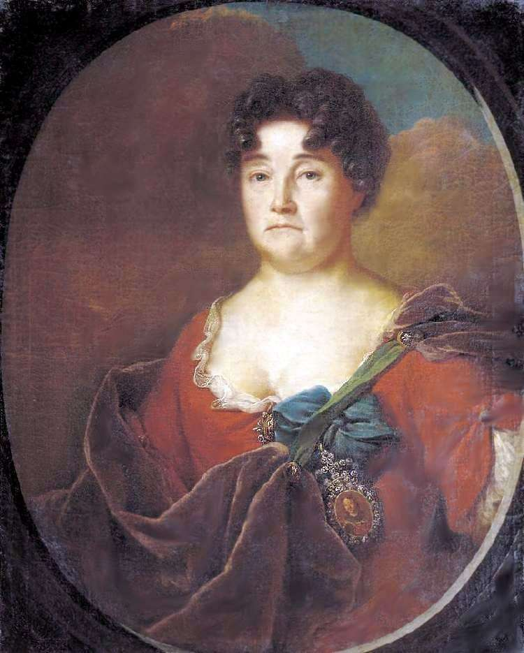 Portrait of A. P. Golitsyna by Andrey Matveyev