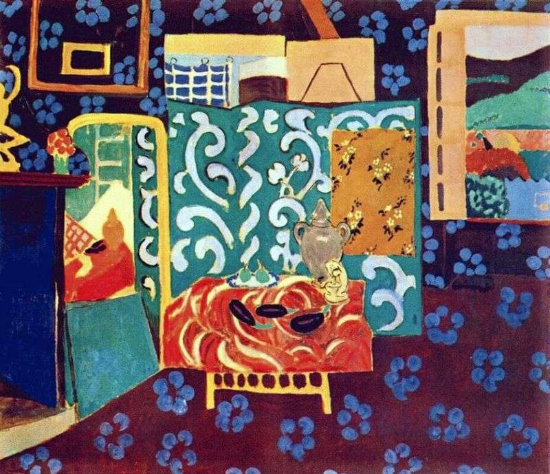 Still Life with Eggplants by Henri Matisse