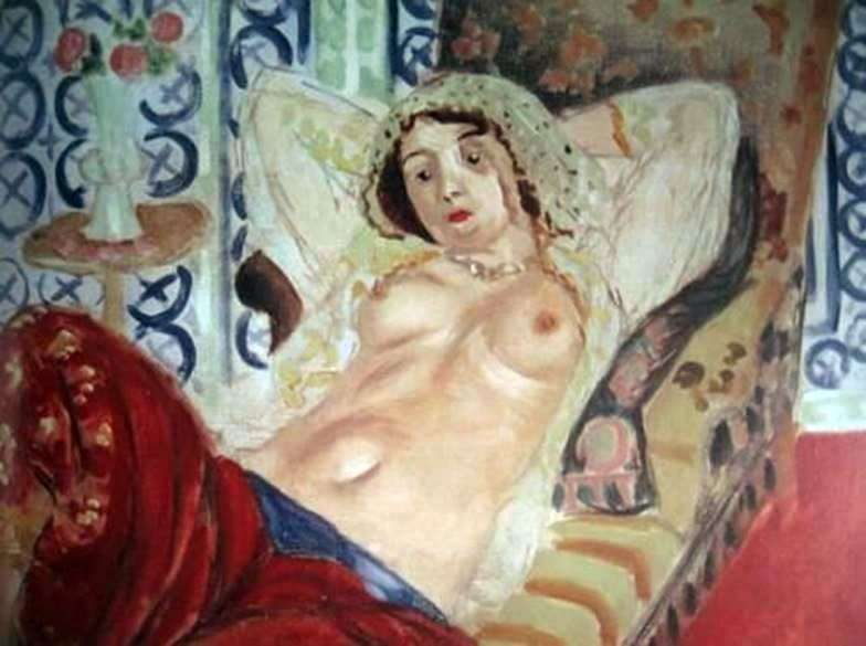Odalisque in red trousers by Henri Matisse