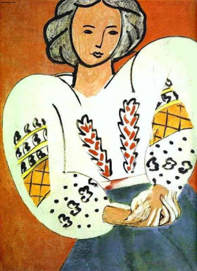 Romanian blouse by Henri Matisse