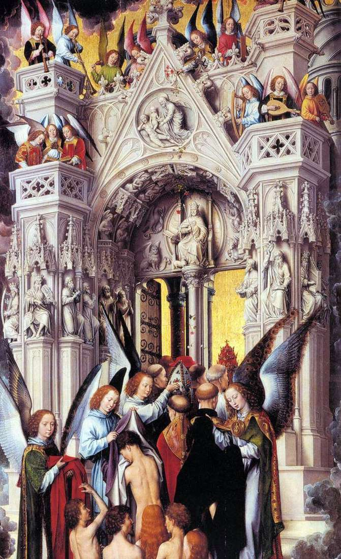 Last Judgment. Left wing by Hans Memling