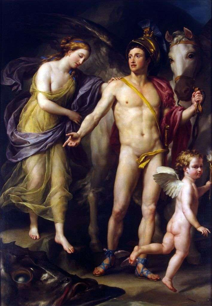 Perseus and Andromeda by Anton Raphael Mengs