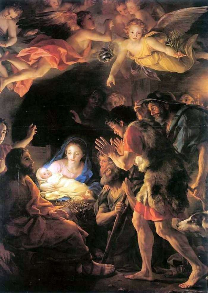 Adoration of the Shepherds by Anton Raphael Mengs