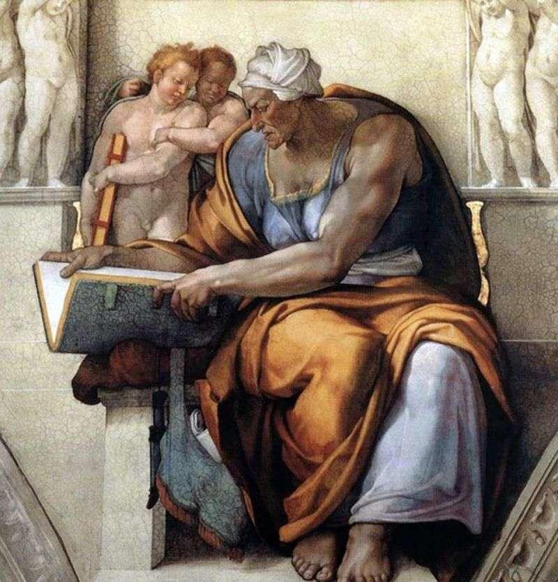 Kuma Sibyl by Michelangelo Buanarrotti