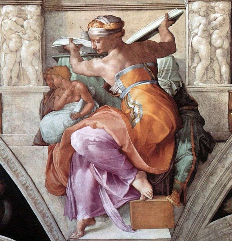 Libyan Sibyl by Michelangelo Buonarroti